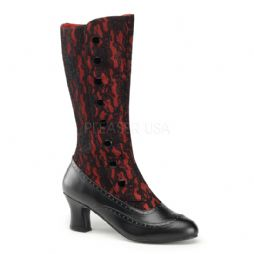 Costume-Ladies Laced & Buttoned Boots